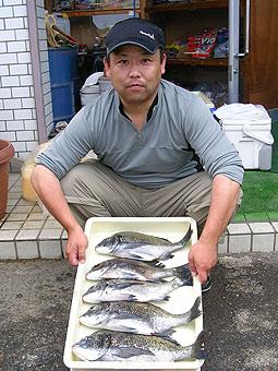 チヌ釣果写真
